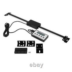 150/300/500/600mm Digital LCD Readout Scale DRO Remote for Milling Machine Lathe