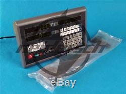 2 Axis DRO Digital Display Readout For Milling Lathe Machine VM600-2 New