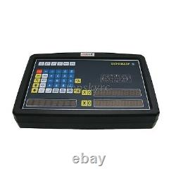 2 Axis DRO Digital Readout Meter for Milling Lathe Machine with Linear Scale tpys