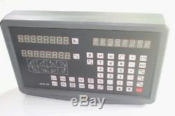 2 Axis Digital Readout Display For Milling Lathe Machine Linear Scales Encoder