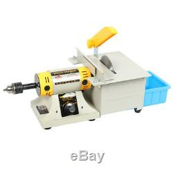 220V TM-2 Jewelry Rock Polishing Buffer Machine Bench Lathe & Polisher Kits 350W