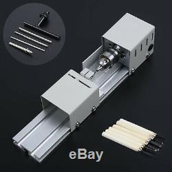 3-10A Standard Wood Lathe Mini Lathe Machine Polisher Table Saw Cutting Tool New