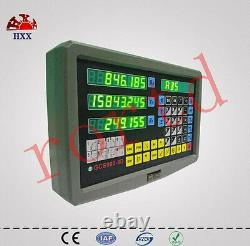 3 Axis DRO digital readout for milling lathe machine with precision linear scale