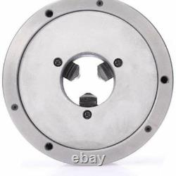 3 Jaw Self-Centering Lathe Chuck K11-100 Hardened Steel for CNC Drilling Machine
