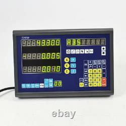 3axis Dro Display Digital Readout With 3 Linear Scales For MILL Lathe Machine