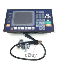 4 Axis 3.5inch CNC Controller TFT RS485 for Lathe Milling Machine Servo Stepper
