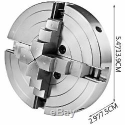 6 Lathe Chuck Self-centering 150mm 4 Jaw for CNC Milling Drilling Machine