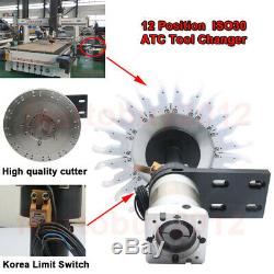 CNC ATC Tool Changer Automatic12 Position ISO30 Machining Centers For CNC lathe