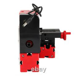 DC12V 3A 36W Mini Lathe Milling Machine Bench Drill DIY Woodworking Power Tool