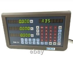 DITRON 3 axis Digital Readout D60-3V Display for Lathe or Milling Machine