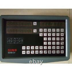DRO 2 Axis Digital Readout SINO SDS6-2V For Mill Or Lathe Machine