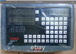 DRO 2 Axis Digital Readout SINO SDS6-2V For Mill Or Lathe Machine T