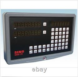 DRO 2 Axis Digital Readout SINO SDS6-2V For Mill Or Lathe Machine U