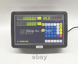 DRO 2 Axis digital readout lathe display for milling machine kit