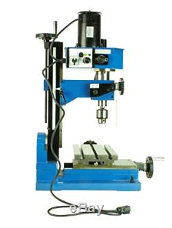 Erie Tools Variable Speed Mini Milling Machine Benchtop Drilling and Machining