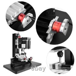 High Power Metal DIY Mini Lathe Micro Milling Machine Millier 12000rpm 60W Tool