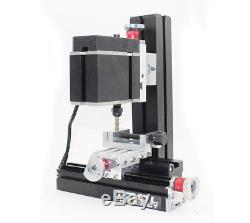High Power Metal Mini Lathe DIY Micro Milling Machine Millier 12000rpm 60W