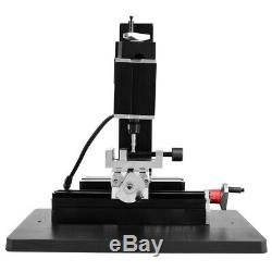 High Power Metal Mini Lathe DIY Micro Milling Machine Millier 12000rpm 60W Tool