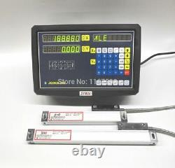 JCS900-2AE 2 Axis digital readout with linear scale for milling lathe machine