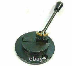 Lathe Machine Attachment- Turns Round Concave and Convex Ball-baring base
