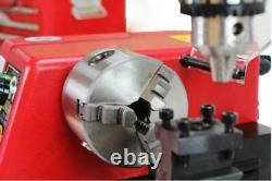 M1 250mm Micro Multi-function Machine Drilling and Milling Lathe machine 220V
