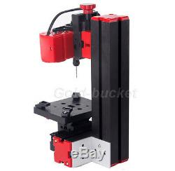 Mini Drilling Machine Lathe Woodworking DIY Tool Model Making for School Amateur