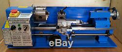 Mini Lathe Brand New 7x14 Machine with DRO & 4 Chuck with Multiple Options