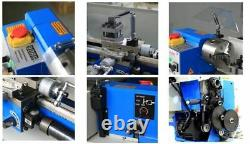 Mini Lathe Package 3 Brand New 7x14 Machine with DRO & 4 Chuck- BRUSHLESS