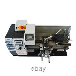 Precision Inch Imperial Thread Lathe Brushless Motor Turning Machine 7x12inch
