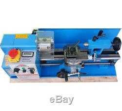 SUMORE 7x12 inch Mini Metal Lathe Machine SP2102x300 Variable Speed Cutters Free
