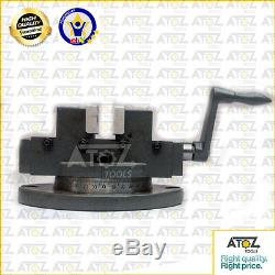Self Centering 2 Milling Machine Vice + Fixed Vertical Slide 125 x 100mm Lathe