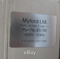 Stop / start switch 3 phase milling machine lathe direct from Myford ltd
